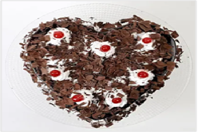 Flakey Hearts Black Forest