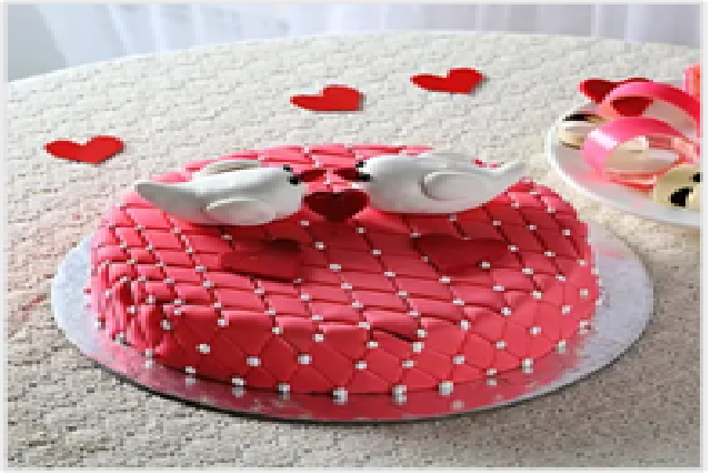Kissing Birds Cake (1 kg)