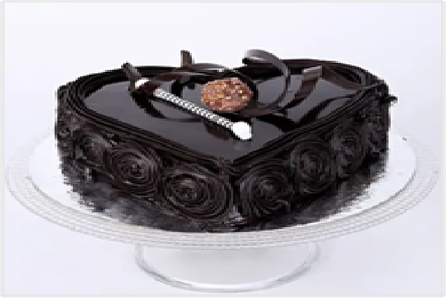 Special Floral Chocolate Cake